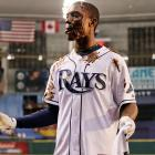 We'd say the Tampa Bay Rays centerfielder appears to have developed himself a bit of an eating disorder...
