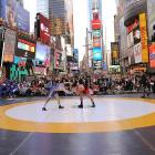 New York's famed Time Square is still the place to go if you're in the mood for a little freestyle action, although it usually involves wrestling a thug for your wallet ...