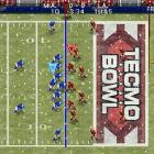 Tecmo Bowl is one of the  classics in the pantheon of electronic football games . And though we usually prefer to ignore inherently inferior mobile versions of console ports, we couldn't ignore the return of this beloved franchise.   Gameplay in Tecmo Bowl Throwback is easy to learn. On offense you can pick from four running plays and four passing plays. On defense you're trying to guess which of the eight plays the opposition has called. If you're right a sack or interception is the likely outcome. It's a simple dynamic, but player skill in executing plays is the difference between a punt and a touchdown. Executing offensive plays is a matter of tapping the screen to snap the ball and then either guiding the ball carrier or picking a receiver to throw to by tapping on him. Player movement can be tricky as the players are very small on the screen, and switching from one player to another during a play is hit or miss. Trying to tackle on defense is also pretty tough as your finger often eclipses the action.  There are 28 city teams to pick from, but there's no NFL license, so all the names are made up. You can play a single game or a full season, but unfortunately you can't play against networked human opponents.  The graphics and sound in the game are decent for an iPhone game, and the familiar side-to-side view does the Tecmo tradition well.  Tecmo Bowl Throwback is available in the Apple store for $7.99.  Score: 8 out of 10