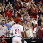 Those fans that stuck around gave infielder Wilson Valdez a standing ovation after he pitched the 19th inning of the Phillies' 5-4 win over the Reds on May 26. With the win, Valdez became the first position player to record a victory since Colorado catcher Brent Mayne on Aug. 22, 2000.