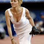 First Pitches by Models and Actresses