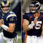 The Rams' Sam Bradford went first overall, and by no means did St. Louis bomb with the selection. But the Rams haven't gotten their full money's worth from the last of the big-dollar No. 1 pick quarterbacks either. Bradford started 16 games just twice in four years (2010 and '12). Meanwhile, who can forget the unexplainable magic carpet ride that was Tim Tebow's 2011 season in Denver, where he willed a .500 Broncos team into the divisional round of the playoffs with a series of late-game heroics and comebacks? Tebow was out of the league by 2013, as was the draft's No. 48 pick, Carolina's Jimmy Clausen.