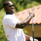 Jaguars quarterback David Garrard made the short drive over from Jacksonville to enjoy a round.