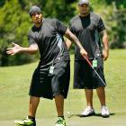 The Pouncey twins (Maurkice, left, and Mike) were teammates of Tebow's at Florida. Maurkice now plays for the Steelers, while Mike was recently drafted by the Dolphins.