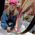"""After becoming the first American junior tennis player to win both singles and doubles titles at the prestigious Les Petit AS tournament in France, Mattek-Sands announced she was turning pro and launching her nickname """"Stinger Bee"""" line of tennis apparel in New York. The 14-year-old from Boca Raton, Fla., represented JC Gear.com, with a portion of the proceeds going to help restore the lives and library of Colorado's Columbine High."""