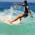 Celebrities Surfing