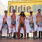 With America engulfed by a congressional sex scandal that triggered a surplus of cheap, puerile puns, we present this stirring photograph from the German league's championship ceremony at City Hall Square where the members of HSV Hamburg fried themselves up some wieners...or is it weiners?