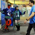 Just another Saturday night on Granville St. in downtown Vancouver...