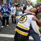 Let it never be said that the 2011 Stanley Cup Final between the Vancouver Canucks and Boston Bruins was not filled with good will between the fans as well as the players themselves.