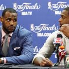 America's heart went out to King James after his teammate explained to him exactly why they would not be playing another basketball game until next fall.