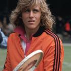 Close-up of Borg at Wimbledon in 1974, less than a month after his 18th birthday.