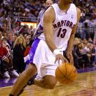 Jackson's production went down steadily as he jumped around the NBA. He landed in Toronto for the 2000-01 season, handing out eight assists per game but only 7.6 points.