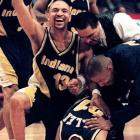 After two years with the Clippers, Jackson was shipped to Indiana, where he and Reggie Miller beat Jackson's former Knicks 97-95 in Game 7 of the Eastern Conference semifinals.