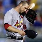Carpenter's 4.52 ERA and 1-5 record are clearly not what Cards' fans expected from their ace, especially in a good year for pitchers. Carpenter, however, has the same fundamentals that he did last season, when he posted a 3.22 mark with 16 wins: He's striking out and walking the same percentage of batters as he did in '11, and his Fielding Independent Pitching ERA (FIP), which is a better measure of performance, is a tick better (3.57) than it was last year (3.69). There is one significant problem, in that hitters are squaring up more balls; Carpenter's line-drive rate has jumped to 24 percent. He is basically the same pitcher he's been the past two seasons, and a good bet to put up last year's stats in the next four months.