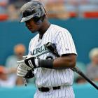 """Ramirez was one the short list for """"best player in baseball"""" two years ago. After an off-year in '10, he's collapsed in '11, improving his walk rate seemingly at random while doing nothing else at the plate. He's recently cited a back problem and may head to the DL to give it a rest, and you almost hope that an injury -- rather than some inexplicable loss of skill at his peak -- is responsible for a .210/.306/.309 line. Ramirez, who was blasted for not hustling last season while nursing an injury, may have tried too hard to stay in the lineup this year rather than cop to the back problem."""