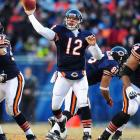 Here's a young guy with very few regular season snaps but some very memorable postseason plays. He went 13-for-20 in the NFC Championship Game for the Bears after starter Jay Cutler went out with an MCL sprain. He tossed two touchdowns and two picks in an incredibly tense second half.