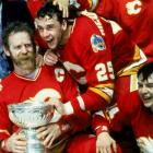 Drafted by Calgary in the second round (27th overall) in 1985, the clutch center won the Calder Trophy as rookie of the year in 1988 after scoring 51 goals and 92 points. He would go on to amass a total of 564 goals -- including 93 game-winners (ninth all-time) and 1,126 points during the course of 20 NHL seasons. One of the league's top face-off specialists, Nieuwendyk, who is now the GM of the Dallas Stars, won three Stanley Cups with three different teams.