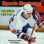 The right winger, considered the best pure goal-scorer in NHL history, was coming off his seventh straight 50-plus tally season, but the Islanders' dynasty was running out of gas in its fifth consecutive Cup final appearance. In a rematch with Wayne Gretzky's Oilers, Bossy failed to score in the five games and produced only three assists as Edmonton took the Cup and began a dynasty of its own. Other Islander stalwarts who were thwarted in that series: Denis Potvin (one assist), Butch Goring (no points) and John Tonelli (no points).