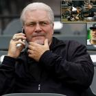 """The feud started when Marlins outfielder Scott Cousins tagged up on a sacrifice fly, ran home and knocked Giants star catcher Buster Posey over, a clean play under MLB's rules. In the collision Posey broke his fibula, knocking him out for the rest of the year. Giants GM Brian Sabean was furious with the play, saying, """"If I never hear from Cousins again, or he doesn't play another day in the big leagues, I think we'll all be happy.""""  Cousins had apologized multiple times for the collision, so teammate Logan Morrison (bottom inset) came to his defense. """"When has [Sabean] ever played in the big leagues? When has he ever played in the minor leagues? It's ignorant, it's inappropriate and he has no idea what the hell he's talking about."""""""