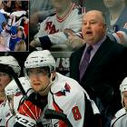 """Capitals coach Bruce Boudreau started a war of words after Game 3 of his team's first round matchup with the Rangers. The quotable coach said that Madison Square Garden had """"horrible"""" facilities and the fans weren't loud. Ranger fans responded in Game 4 with chants of """"can you hear us"""" after their team took a 3-0 lead. After this, the Caps scored four straight to take the game and control of the series, giving their coach the last laugh."""