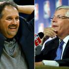 """Brash Magic coach Stan Van Gundy caused a ripple in the NBA world when he attacked David Stern, the league's commissioner. Van Gundy was quoted saying, """"I certainly can't have an opinion because David Stern, like a lot of other leaders we've seen in this world lately, don't really tolerate other people's free speech."""" The all-powerful Stern replied the next day with, """"I would render a guess...that we won't be hearing from him for the rest of the season."""" Stern was right."""