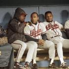 Due to football obligations, Sanders wasn't able to play for the Braves during the 1992 regular season but reworked his contract so he was available for Atlanta's playoff run. Despite playing with a broken bone in his foot, Sanders had a fantastic postseason, including a memorable World Series in which he hit .533. The Braves ultimately lost to the Toronto Blue Jays in the final series 4-2.