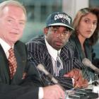 """Dubbed the """"Deion Sweepstakes"""" because of Sanders combination of talent and charisma, NFL free agency during the summer of 1995 was centered on where the talented cornerback would end up. Citing his desire to win, Sanders signed with the Cowboys for seven years and $35 million. The Cowboys won Super Bowl XXX later that spring."""