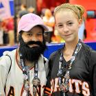 A recently discovered photo of Giants closer Brian Wilson during his Little League days...