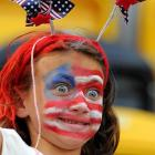 By the looks of things, the July 4th holiday at the Women's World Cup was quite festive.