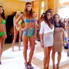 What would any summer worth its salt be without an eyeful of SI bathing suit supermodel Chrissy Teigen (front left) at the Mercedes-Benz Fashion Week Swim in South Beach, Florida? It would be the dead of winter, that's what.