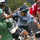 MMA met bicycling in a big way as Alberto Contador took on a challenger during the 19th stage between Modane and Alpe-d'Huez, France. Next up for Contador: a Strikeforce undercard bout.