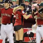 Kate Upton at MLB's All-Star Celebrity Softball Game