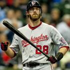 2010 Stats with Philadelphia Phillies (156 G, 554 AB):  106 R, 27 HR, 85 RBI, .296 AVG, .388 OBP   A NL-leading 46 doubles with the Phillies helped Werth sign a seven-year, $126 million contract with the Nationals this offseason. So far, though, Werth has posted disappointing numbers, including a .215 average through the All-Star break.