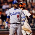 2010 Stats with San Francisco Giants (148 G, 521 AB):  64 R, 24 HR, 85 RBI, .248 AVG, .304 OBP   The pop that gave Uribe enough power to hit 24 home runs for the Giants seems to have left him. Uribe is struggling with the Dodgers and has hit just four dingers in 2011 while batting .207 through the All-Star break.