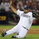 Heath Bell made a memorable entrance in the eighth inning -- a dead sprint from the outfield bullpen climaxed by a divot-digging slide toward the mound.