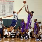 NBA Players, Celebs at Famed L.A. League