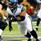 John Fox needs interior-line beef to bolster run defense.     UPDATE: Seahawks agree to deal with Mebane.