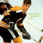 Four rhymes with Orr, but it was an injury to Bruins defenseman Junior Langlois during training camp in 1966 that put the digit on the future Hall of Famer's back. As a rookie, Orr was given 27, but his first choice was 2, which he had worn in junior hockey. However, there was a catch: Boston had retired 2 in 1947 in honor of Eddie Shore. So Orr settled for 4 when Langlois failed to make the team.