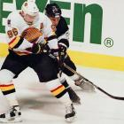 """A case of be careful what you wish for. The Russian Rocket requested 96 -- in honor of the date of his arrival (9/6) in North America in 1991 -- but was denied by Canucks coach Pat Quinn, who thought it was a showboat number. Bure was given 10 instead, and he proceeded to score 60 goals in two of the next four seasons. In 1995, he was allowed to switch to 96, but promptly began suffering serious knee injuries. After two snakebitten seasons, Bure switched back to 10, saying, """"I'm not superstitious, but the last two seasons have been bad memories."""""""