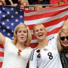 U.S. World Cup Fans in Germany