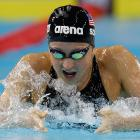 With the high-tech swimsuits gone, world records will not be falling like dominoes. If one woman is to set a new mark, Rebecca Soni might be the favorite. She came within a half-second of the 200 breaststroke record last year (wearing a low-tech suit). Soni is the unquestioned favorite to sweep the 100 and 200 breaststrokes, owning the three fastest times in the world this year in both distances. Potential Events 100 breast 200 breast Medley relay