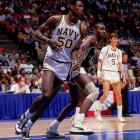 Upsets defined the 1986 NCAA tournament. Cleveland State, a 14th seed, stunned Indiana in the first round and St. Joseph's in the second round to make the  Sweet 16, where it lost to David Robinson and seventh-seeded Navy. Another No. 14 seed, Arkansas Little-Rock, also won its first-round game (against Notre Dame), while 12th-seeded DePaul won twice and 11th-seeded LSU reached the Final Four. In all, only seven of the top 16 seeds made the Sweet 16. (Louisville, a No. 2 seed led by freshman Pervis Ellison, beat No. 1 seed Duke in the final.)