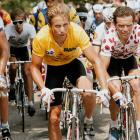 Greg LeMond claimed the first of his three Tour de Frances in 1986, when he became the first American to win the race.