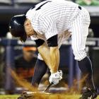 It's always a Bronx Bummer to whiff with your team down by two and the tying runs on base, as Mr. Gardner did during a loss to the woeful Orioles on July 29. Well, if you can't hit the ball, you can always hit the dirt.