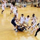 """This unfortunate tussle kind of gave lie to the term """"friendly match"""" at the Beijing Olympic Basketball Arena on Aug. 18."""