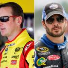 """The Johnson-Busch feud has been brewing for more than a year, and the rivalry was rekindled after some pushing and shoving at Pocono on Aug. 7. Of Busch, Johnson said: """"He's a big crybaby and wants to take shots at me when he can. He's good for running his mouth. He can keep running it. I'll shut it for him."""" With both drivers in contention for the title, we haven't heard the last of this feud."""