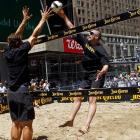 Since the NBA lockout went into effect July 1, players have found plenty of ways to keep busy -- and very few include basketball.   Timberwolves All-Star Kevin Love has used his height to his advantage by taking up beach volleyball. So far he's 0-1 in the sand; he and partner Hans Stolfus lost straight sets in their debut in the Manhattan Beach Open on Aug. 25.