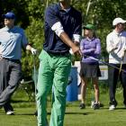 Battier hit the green with green pants.