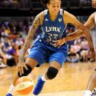 Guard Seimone Augustus led the Lynx in scoring this season with 16.2 points per game. Her shooting ability will be critical for Minnesota in the playoffs.
