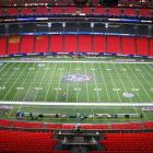 Filled only with employees and stray media members, the Georgia Dome already smells of peanut oil hours before the Chick-fil-A Kickoff gets underway.